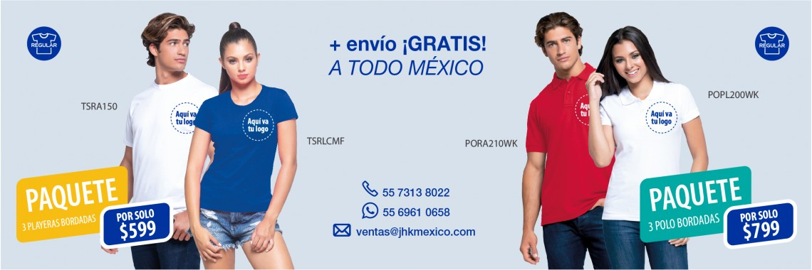 Promo playeras bordadas 2