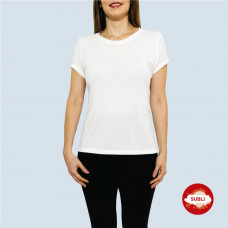 PLAYERA SUBLIMAR CUELLO REDONDO DAMA