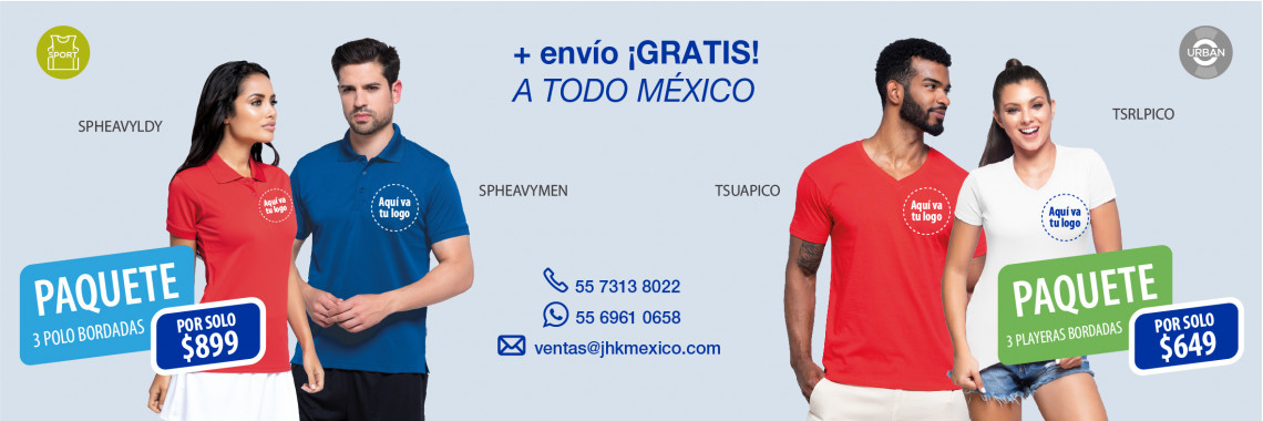 Promo playeras bordadas